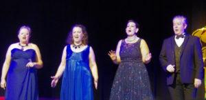 A Chap, 3 Divas, and a Piano theatre performance